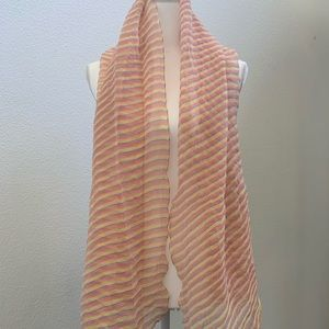 Giorgio Armani Silk Oversized Scarf Wrap Shawl